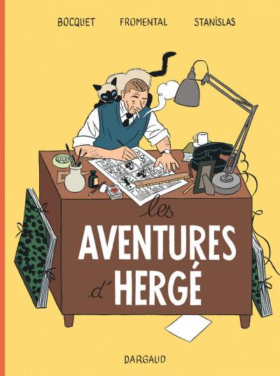 image de Les aventures d'Hergé tome 1
