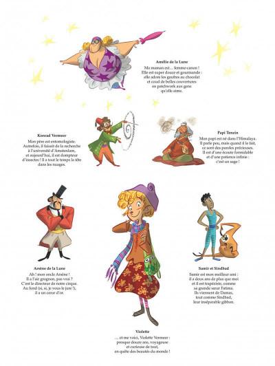 Page 2 Violette autour du monde tome 2 - La symphonie du nouveau monde