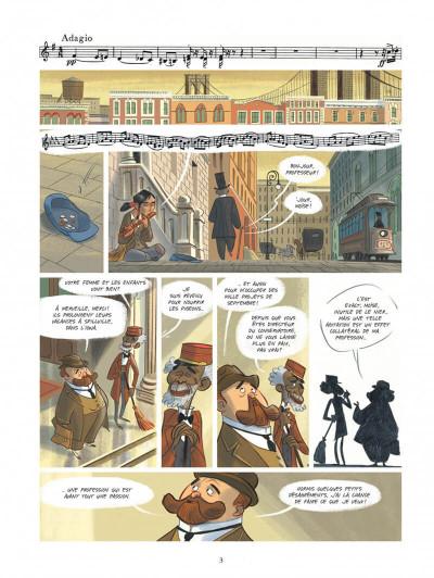 Page 3 Violette autour du monde tome 2 - La symphonie du nouveau monde