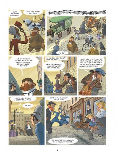 Page 4 Violette autour du monde tome 2 - La symphonie du nouveau monde