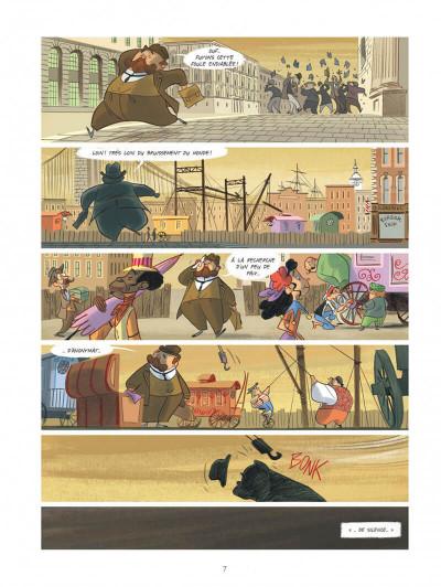 Page 7 Violette autour du monde tome 2 - La symphonie du nouveau monde