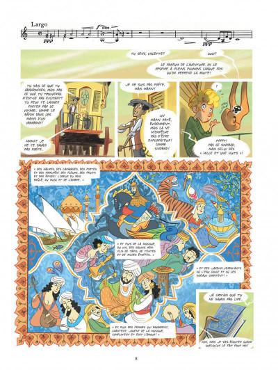 Page 8 Violette autour du monde tome 2 - La symphonie du nouveau monde