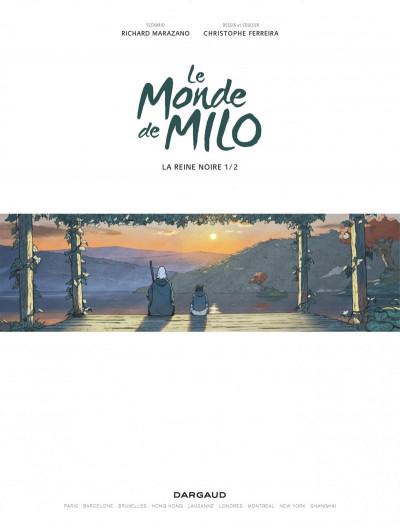 Page 1 Le monde de Milo tome 3
