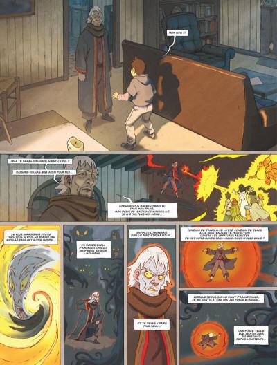 Page 7 Le monde de Milo tome 3