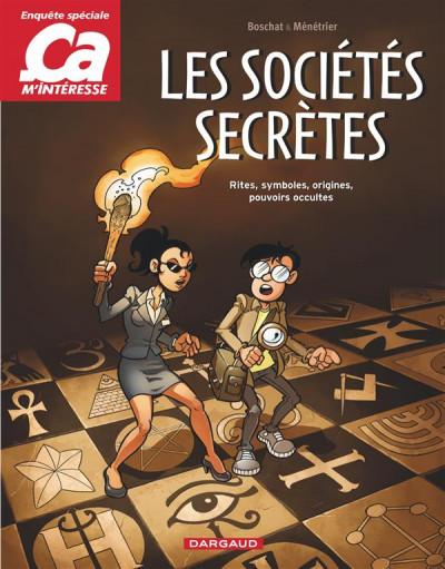image de Ça m'intéresse tome 3 - Les sociétés secrètes