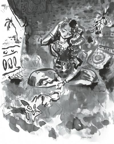 image de Le chat du rabbin tome 6 - tu n'auras pas d'autre dieu que moi (Grand format Noir & Blanc)