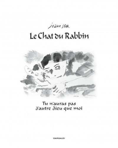 Page 1 Le chat du rabbin tome 6 - grand format N&B