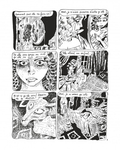 Page 3 Le chat du rabbin tome 6 - grand format N&B