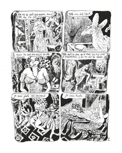 Page 4 Le chat du rabbin tome 6 - grand format N&B