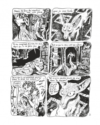 Page 5 Le chat du rabbin tome 6 - grand format N&B