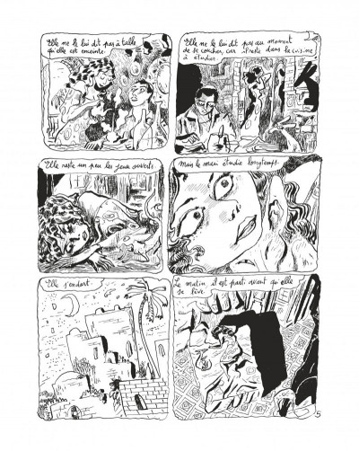 Page 7 Le chat du rabbin tome 6 - grand format N&B