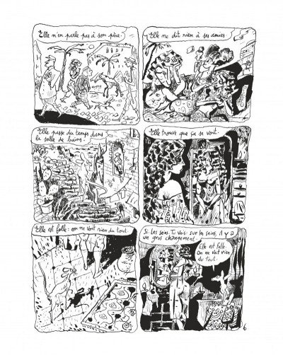 Page 8 Le chat du rabbin tome 6 - grand format N&B