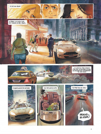 Page 3 Le projet Bleiberg tome 1