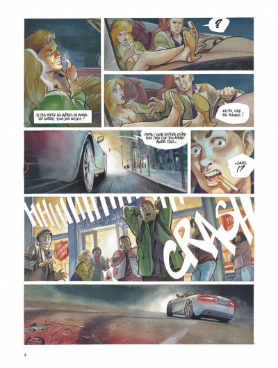Page 4 Le projet Bleiberg tome 1