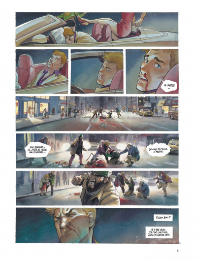 Page 5 Le projet Bleiberg tome 1