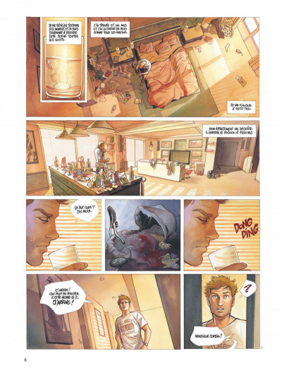 Page 6 Le projet Bleiberg tome 1