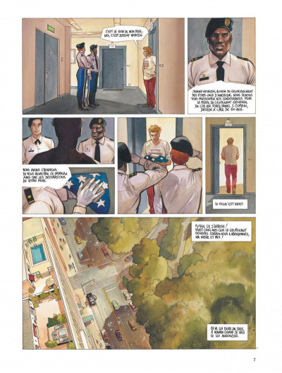 Page 7 Le projet Bleiberg tome 1