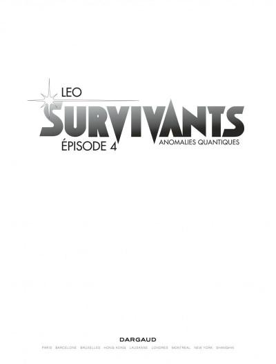 Page 1 Survivants tome 4