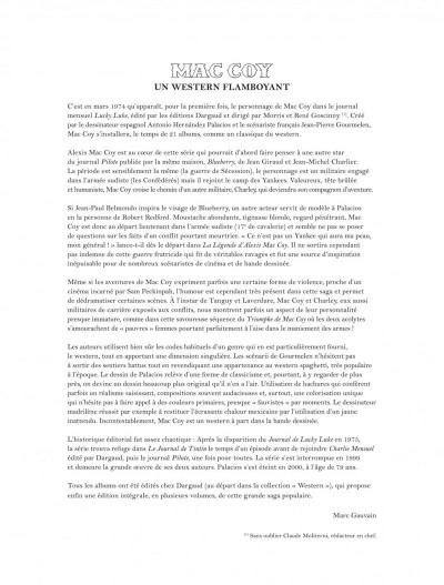 Page 3 Mac Coy - intégrale tome 1