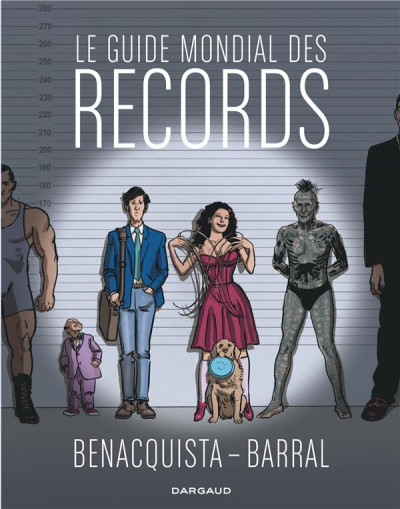 Couverture Le guide mondial des records