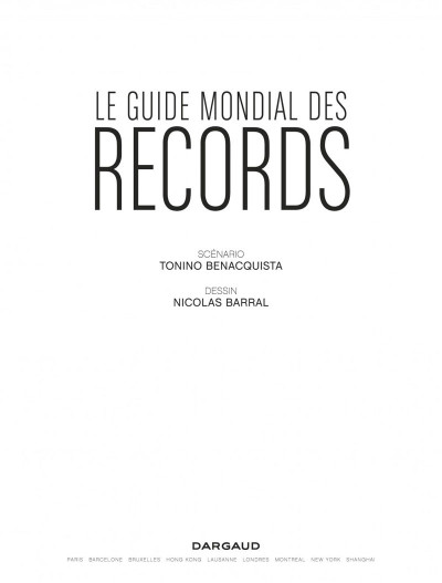 Page 2 Le guide mondial des records