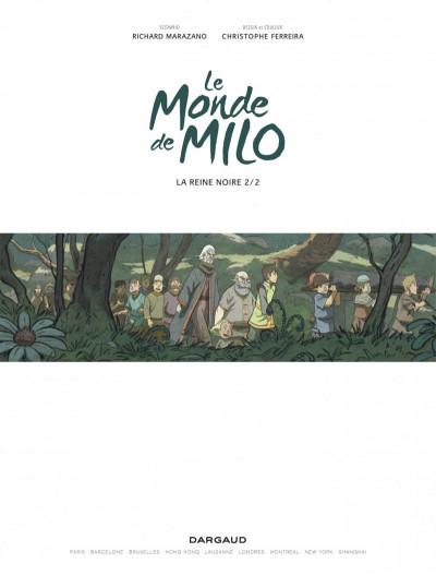 Page 1 Le monde de Milo tome 4