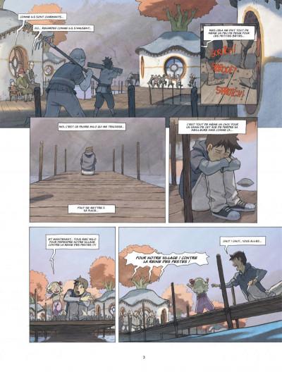 Page 3 Le monde de Milo tome 4