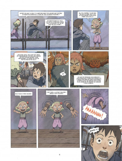 Page 6 Le monde de Milo tome 4
