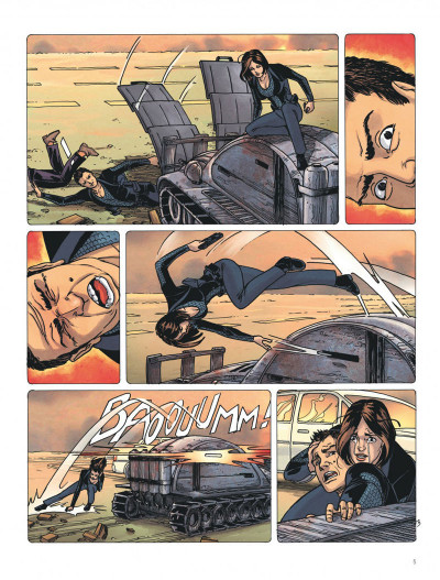 Page 5 Ultime frontière tome 3