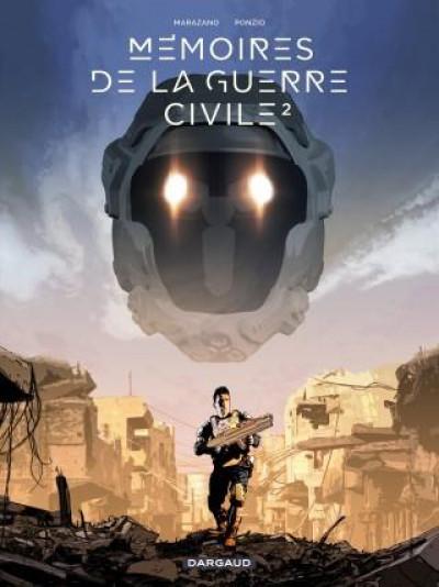 Couverture Mémoires de la guerre civile tome 2