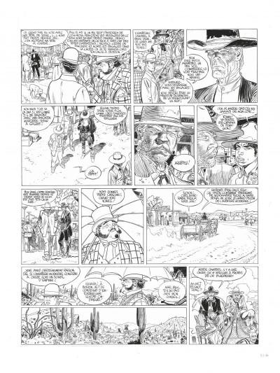 Page 4 Blueberry tome 24 - noir et blanc