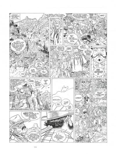 Page 7 Blueberry tome 24 - noir et blanc