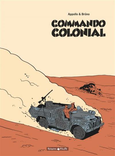 Couverture Commando Colonial intégrale