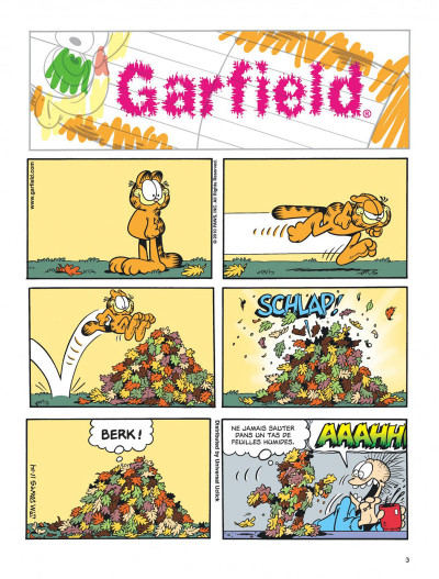 Page 3 Garfield tome 63
