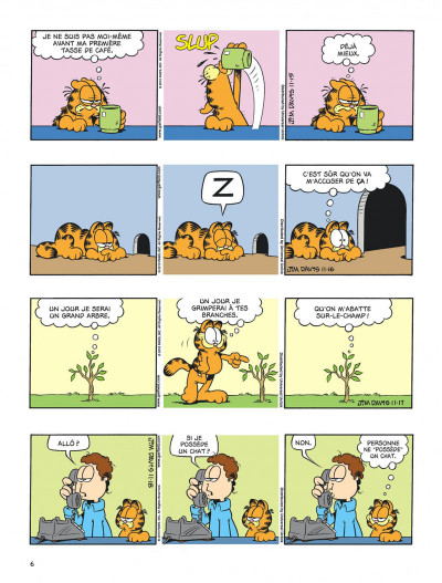 Page 6 Garfield tome 63
