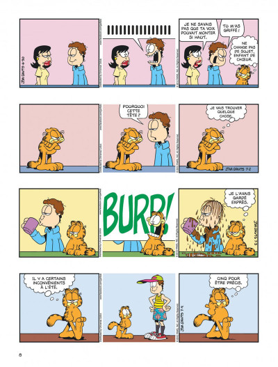 Page 8 Garfield tome 63