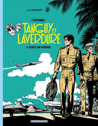 Couverture Tanguy et Laverdure - intégrale tome 5