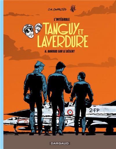 Couverture Tanguy et Laverdure - intégrale tome 6