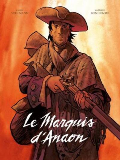 Couverture Le marquis d'Anaon - intégrale