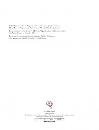 Page 2 Le marquis d'Anaon - intégrale