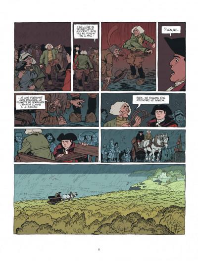 Page 8 Le marquis d'Anaon - intégrale