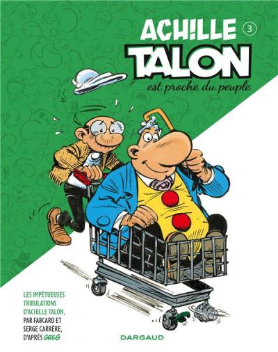 Couverture Les impétueuses tribulations d'Achille Talon tome 3