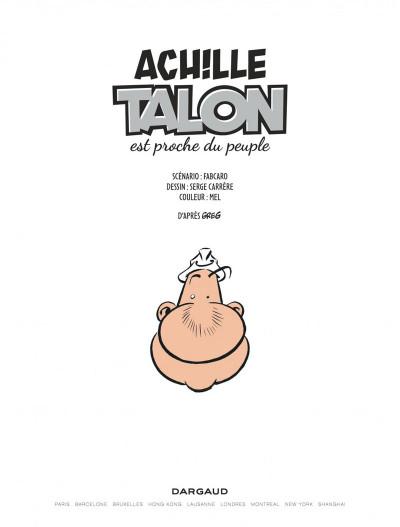 Page 2 Les impétueuses tribulations d'Achille Talon tome 3