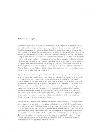 Page 3 La légèreté