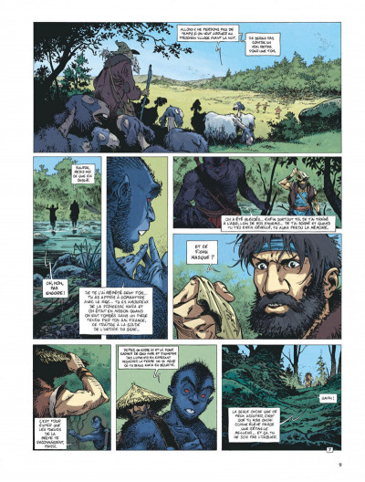 Page 9 Avant la quête de l'oiseau du temps tome 5