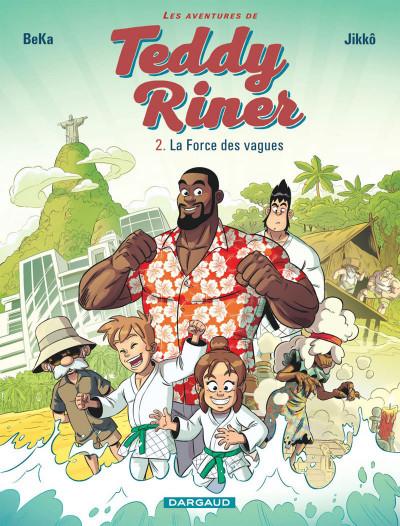 Couverture Les aventures de Teddy Riner tome 2