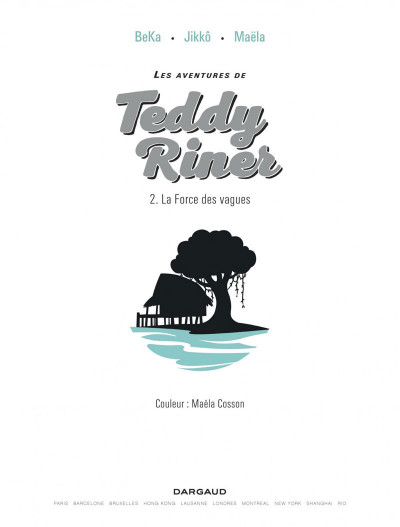 Page 1 Les aventures de Teddy Riner tome 2