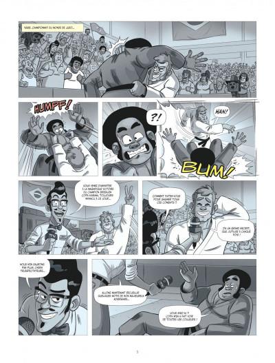 Page 3 Les aventures de Teddy Riner tome 2