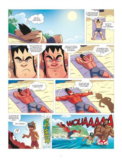 Page 7 Les aventures de Teddy Riner tome 2
