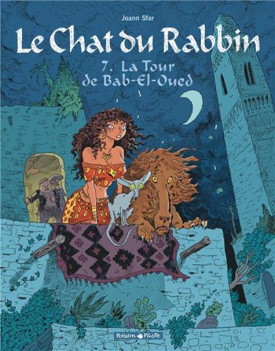 Couverture Le chat du rabbin tome 7